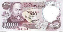 Colombia - Pick 440 - 5000 Pesos 1994 - Unc - Colombie