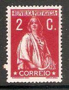 001296 Portugal 1912 Ceres 2c MH - 1910-... Republic