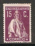 001298 Portugal 1912 Ceres 15c MH - 1910-... Republic