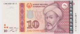 TADJIKISTAN 10 Somoni 1999 P16a UNC - Tadjikistan
