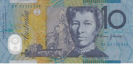 BILLETE DE AUSTRALIA DE 10 DOLLARS  DE POLIMERO  (BANKNOTE) - Emisiones Gubernamentales Decimales 1966-...