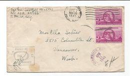 United States Scott # 927   APO 565 Indonesia  3/30/1945. Censored. - Lettres & Documents