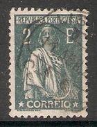 001301 Portugal 1921 Ceres 2 Esc FU - 1910-... Republic