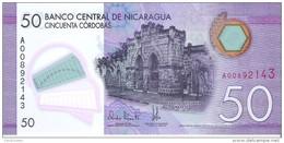 Nicaragua - Pick 211 - 50 Cordobas 2014 - 2015 - Unc - Nicaragua