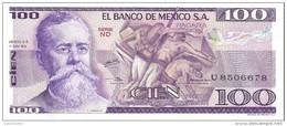 Mexico - Pick 68 - 100 Pesos 1979 - Unc - Messico