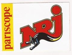 Autocollant Stickers NRJ  Pariscope - Autocollants