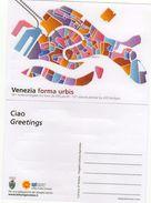 Venezia Forma Urbis - Piantina 121 Isole Collegate Tra Loro Da 435 Ponti - - Cartoline