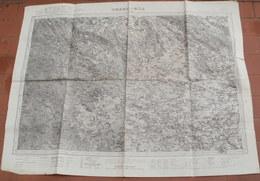 Grande Carte Du TONKIN - THANH-HOA /   INDOCHINE  Echelle 1/100.000 Numérotée 71-  63 Cm X 84 Cm - Topographical Maps
