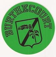 Autocollant Stickers   57 - Burthecourt - Autocollants