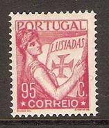 001321 Portugal 1933 Camoens 95c MNH - 1910-... Republic