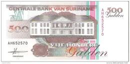 Suriname - Pick 140 - 500 Gulden 1991 - Unc - Suriname