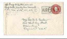 United States Scott # UC9   APO 554 (752) France 7/151945. - Lettres & Documents