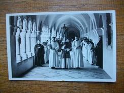 """"""""""" Dourgne """""""" Abbaye De Saint-benoit-d'en Calcat , Procession Dans Le Cloître """" Carte Avec Belle Animation """" - Dourgne"""