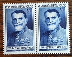 France - YT N°847 / Paire - Congrès De Télégraphie Et Téléphonie / Général Ferrié - 1949 - Neufs - France