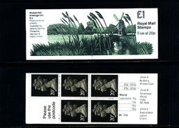 GREAT BRITAIN - 1989  £ 1  BOOKLET  MILLS  1  (MATT)  MINT NH  SG FH 18 - Booklets