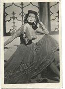 Cinema Advertisement.Small Photo. Sizes 6cm/9cm. Maureen O'Hara -  Actress And Singer - Cinema Advertisement