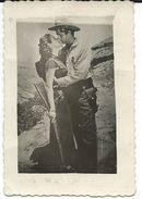 Cinema Advertisement.Small Photo. Sizes 5.5cm/8.5cm. Unknown Actress.scene Of Movie - Cinema Advertisement