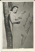 Cinema Advertisement.Small Photo. Sizes 6cm/9cm. Debbie Reynolds -  Was An American Actress, Singer, Film,guitar - Werbetrailer