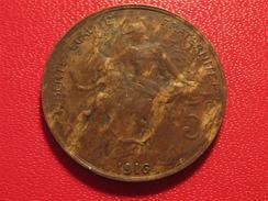 5 Centimes Dupuis 1916 Etoile - Madrid 2525 - Frankreich