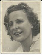 Cinema Advertisement.Small Photo. Sizes 5cm/6cm. Leni Riefenstahl - German Film Director,actress And Dancer - Cinema Advertisement