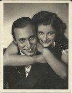 Cinema Advertisement.Small Photo. Sizes 5cm/6cm. Gisela Uhlen & Carl Raddatz Film Actors - Cinema Advertisement