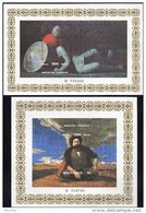 Epos Manos 1995 Kirgisien Block 9+10 B ** 5€ Oper Altai-Berge Bloque History Ms Art Bloc Music Sheets Bf Kyrgyzstan - Kirghizistan