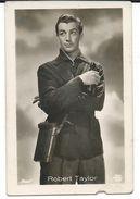 Cinema Advertisement.Small Photo. Sizes 4.5cm/7cm. Robert Taylor - American Film And Television Actor - Werbetrailer