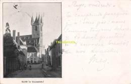 CPA SLUIS IN VLAANDEREN 1899 - Sluis