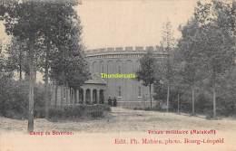 CPA  CAMP DE BEVERLOO PRISON MILITAIRE MALAKOFF MAHIEU - Leopoldsburg (Camp De Beverloo)