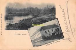 CPA  GENK GENCK MARAIS A GENCK HOTEL DE LA CLOCHE BLANCKAERT FRERES HASSELT - Genk