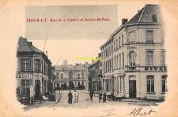 CPA  TORHOUT THOUROUT  RUE DE LA STATION ET JUSTICE DE PAIX - Torhout