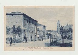 VILLA STRADA (UMBRIA) - INGRESSO AL PAESE - VIAGGIATA 1926 MANCA BOLLO - ITALY POSTCARD - Perugia