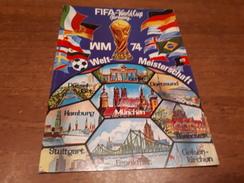 Postcard - Germany, Munchen 1974, FIFA WM     (V 32003) - Autres