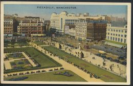 °°° 7546 - UK - MANCHESTER - PICCADILLY - 1952 °°° - Manchester