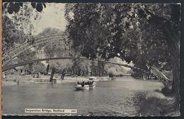 °°° 7547 - UK - BEDFORD - SUSPENSION BRIDGE - 1963 With Stamps °°° - Bedford