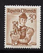 AUTRICHE 1958/59 COSTUMES REGIONAUX  YVERT N°888  NEUF MNH** - 1945-60 Neufs
