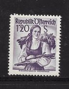 AUTRICHE 1958/59 COSTUMES REGIONAUX  YVERT N°892  NEUF MNH** - 1945-60 Neufs