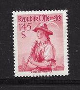 AUTRICHE 1958/59 COSTUMES REGIONAUX  YVERT N°893 NEUF MNH** - 1945-60 Neufs