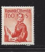 AUTRICHE 1958/59 COSTUMES REGIONAUX  YVERT N°895 NEUF MNH** - 1945-60 Neufs