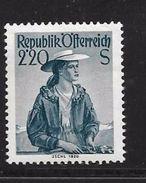 AUTRICHE 1958/59 COSTUMES REGIONAUX  YVERT N°896 NEUF MNH** - 1945-60 Neufs