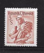 AUTRICHE 1958/59 COSTUMES REGIONAUX  YVERT N°898 NEUF MNH** - 1945-60 Neufs