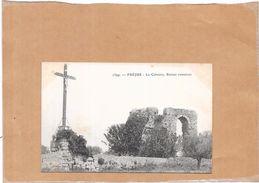 FREJUS - 83 - CPA DOS SIMPLE - Le Calvaire Ruines Romaines  - LYO1 - - Frejus