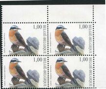 Buzin - Belgien - Belgique -  Belgium - Belgie - Michel 3188 - ** Mnh Neuf Postfris - Steinschmätzer - 1985-.. Birds (Buzin)