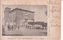 Q683 MANZANA - PIAZZA DELL'INDIPENDENZA E PALAZZO TITTONI - Treviso