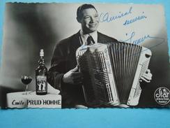 Artiste - Musicien - Emile Prud'Homme - Accordéoniste - Autographe - Music And Musicians