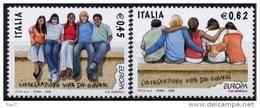 EUROPA-CEPT 2006 - ITALIE 2v NEUFS ** (MNH) - Europa-CEPT