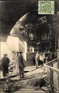 Cp La Métallurgie, Préparation De La Coulée De La Fonte, Hochofen, Schlacke, Arbeiter - Professions