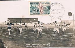FRANCE Carte Maximun  N° 961.D.Ed AN 441 Pt Ft Hor Noir.1.Oblsp PJ 28 11 1953 Paris - Cartes-Maximum
