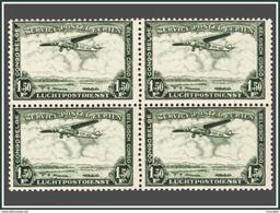 Congo PA 0009** 1,5F Bloc De 4 - MNH - Belgian Congo