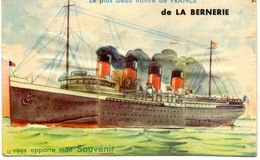 Carte à Système De La Bernerie. Le Plus Beau Navire De France. - La Bernerie-en-Retz